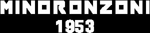 Minoronzoni Logo Bianco